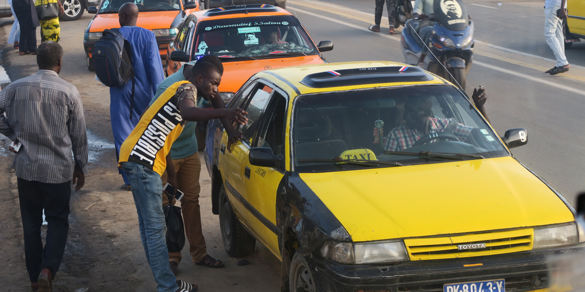 Taxis and people